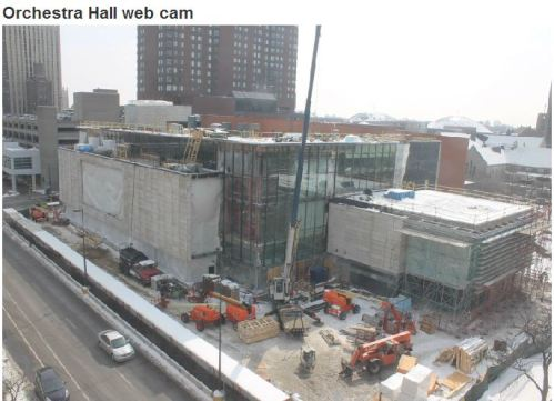 Orchestra Hall webcam