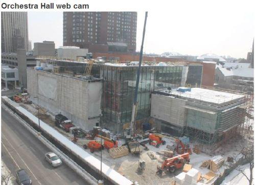 Orchestra Hall webcam
