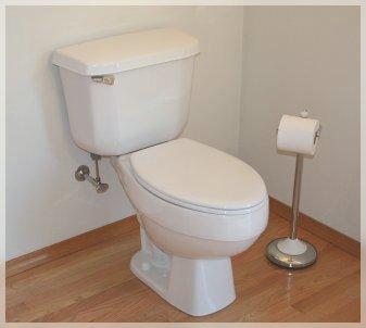 *flush*