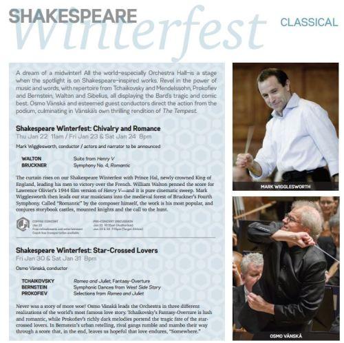 Shakespeare Winterfest